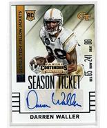 DARREN WALLER 2015 Contenders Draft Picks Rookie Auto Autograph #253 - L... - $58.41