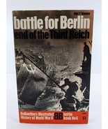 Battle For Berlin End of Third Reich WW II Battle No. 6 Ballantine Books PB - $8.91