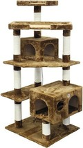 Go Pet Club F2021 Cat Tree Condo Scratcher Post Pet Bed Furniture - $69.66