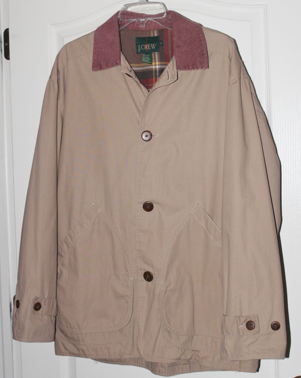 Primary image for J. Crew Men's Khaki Field Jacket  Size Medium