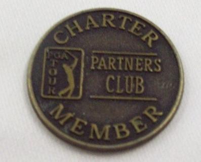 PGA Tour Charter Member Partners Club Token