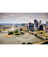 'Pittsburgh'  - 10x15 Mounted Fine Art Print  - $36.99