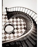 'Winding Stairs' - 9x12 Mounted Fine Art Print  - $25.99