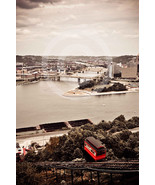 'Incline Pittsburgh' - 8x12 Mounted Fine Art Print  - $25.99
