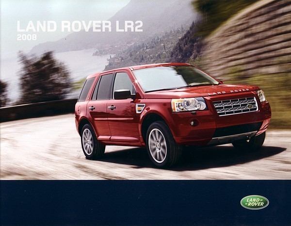 Primary image for 2008 Land Rover LR2 brochure catalog 2nd Edition US 08 Freelander