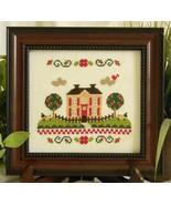 Country Life Estate cross stitch chart Cherry Hill Stitchery - $5.40