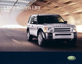 2008 Land Rover LR3 sales brochure catalog US 08 Discovery - $12.00