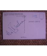 "Bond Girl Autograph (Honor Blackman) On A 3 1/2"" X 5 1/2"" Initaled Postcard - $60.00"