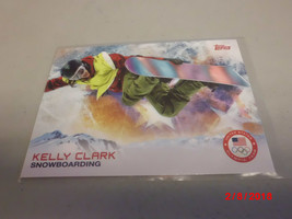 2014 Topps USA Winter Olympic Team #15 Kelly Clark -Snowboarding- - $2.97