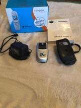 Motorola V220 Silver GSM Cingular Cellular Phone - $29.69