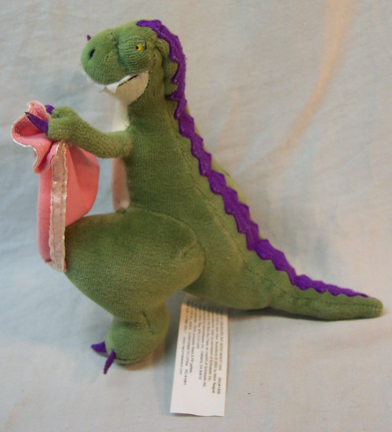 "MerryMakers HOW DO DINOSAURS SAY GOOD NIGHT DINOSAUR 6"" Plush STUFFED ANIMAL Toy"