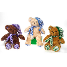 "14"" Fiesta Toy Cute Cuddly Beige or Brown Bear ... - $15.99"