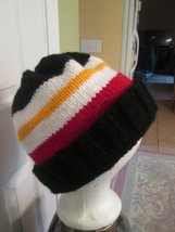 Tampa Bay Buccaneers Fan Hat Red Black Orange White Acrylic Double Knit ... - $20.10