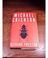 Micro HB DJ Book, by Michael Crichton and Richard Preston, 1st Ed, read ... - $6.95