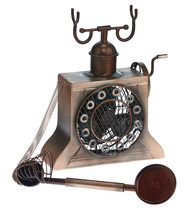 DecoBreeze Antique Copper Phone Figurine Fan  DBF6141 - $89.99