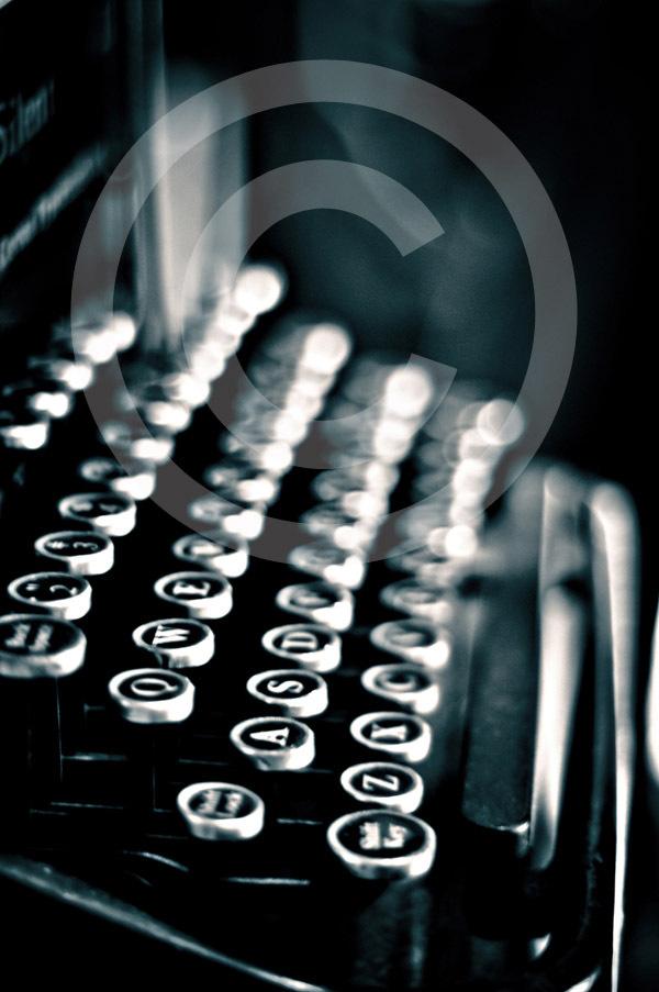 Type writer copy