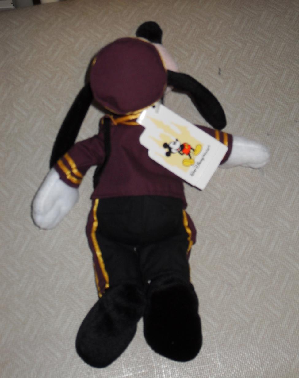 Disney Tower Of Terror Goofy Bean Bag Stuffed Toy