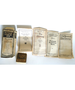 Putnam straw hat dye advertising box brochures 1900 vintage Monroe Drug ... - $9.99