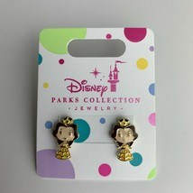 Disney Parks Princess Pierced Earrings Jewelry Girls Belle - $6.16