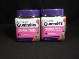 Natrol Gummies Prenatal Multi Vitamins 90 Count Berry Cherry Grape 2 Bot... - $14.80