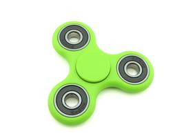 Tri fidget spinner edc finger hand spinner focus anxiety stress relief desk toy green thumb200