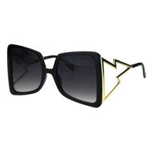 Super Oversized Square Sunglasses Womens Glamour Fashion Shades UV 400 - $11.95