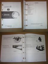 John Deere 702 Carted Wheel Rake  Predelivery Instructions Manual - $11.00