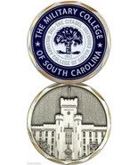 THE MILITARY COLLEGE OF SOUTH CAROLINA CITADEL CHALLENGE COIN - $18.04