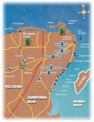 Cancun~MOON PALACE RESORT:  ALL INCLUSIVE VIP WEEK