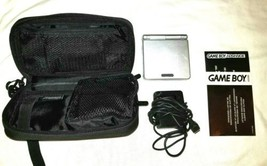 Nintendo Gameboy Advance SP Gaming System Bundle Pack With Charger and Case - $74.53