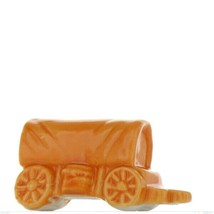 Wade Whimsies Red Rose Tea American Heritage Covered Wagon