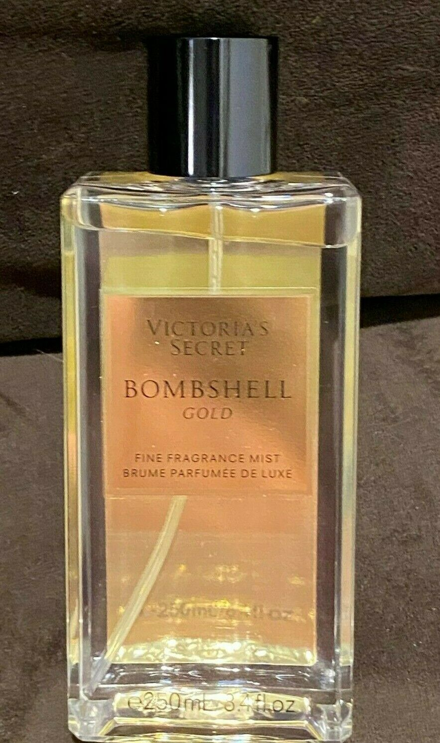 Primary image for New VICTORIA'S SECRET Bombshell Gold Fine Fragrance Mist retail price $25.00