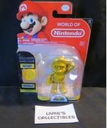 "World of Nintendo Large Mario Gold 4"" action figure Super Mario Jakks Pa... - $94.99"