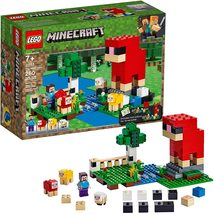 New LEGO Minecraft 21153 The Wool Farm Building Kit Free Shipping - $16.99