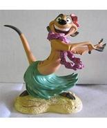 """WDCC Lion King Timon """"Luau!"""" Member Sculpture - $59.35"""