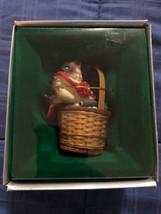 1986 New in Box - Enesco Christmas Ornament - Siamese Kitten - #551279 - $9.89