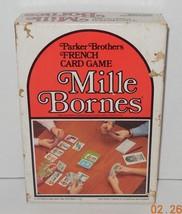 VINTAGE RARE MILLE BORNES 1971 EDITION Card Game 100% Complete Parker Br... - $32.73