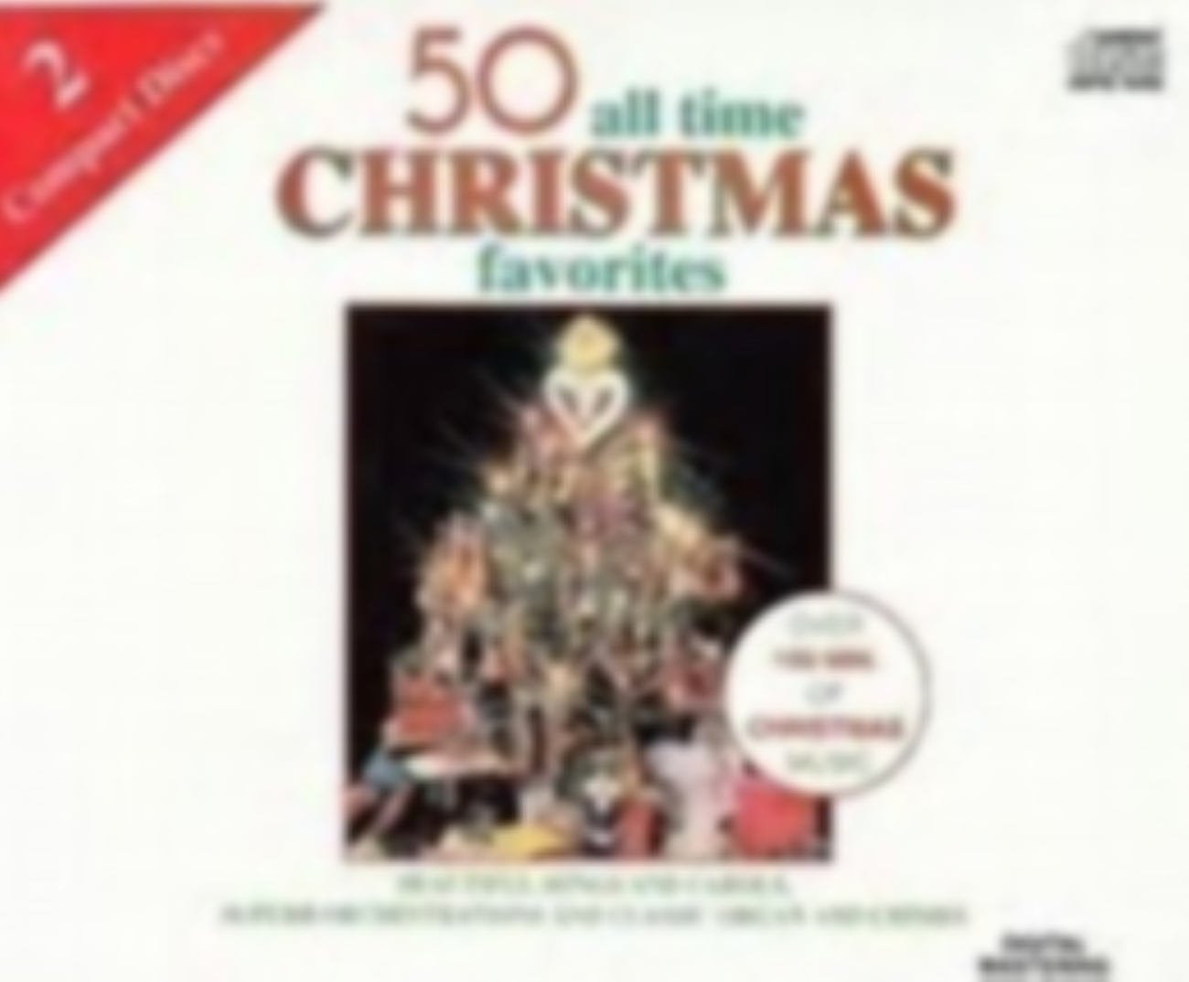 50 All Time Christmas Favorites Cd