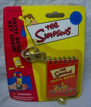 """The Simpsons FACTS BOOK 3"""" KEY CHAIN NEW IN PACKAGE - $14.85"""