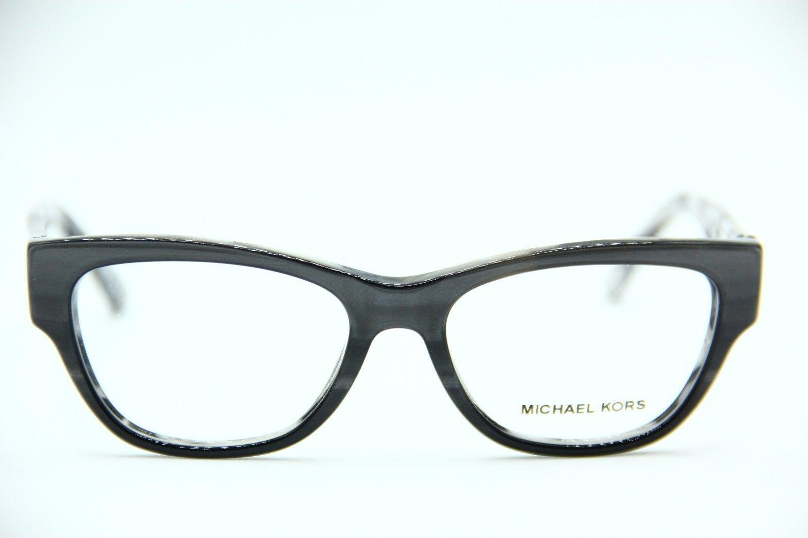 NEW MICHAEL KORS MK 4037 3211 GREY EYEGLASSES AUTHENTIC RX MK4037 51-16 image 2