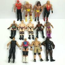 Lot of 13 WWE Wrestlers Mattel Action Figures 2010-2013 Heavy Wear Hogan... - $69.98