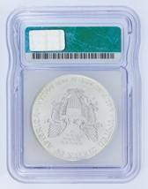 1994 Silber American Eagle Ausgewählten von ICG As MS69 ! Atemberaubend Adler image 2