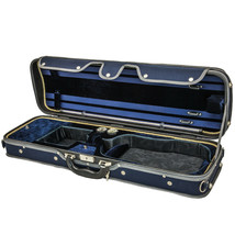 Luxury Euro-Style Solid Wood 4/4 Violin Case Oblong - $149.99