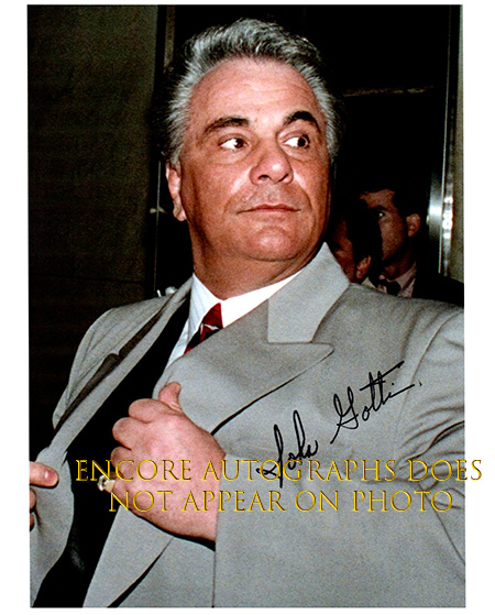 Primary image for JOHN GOTTI  Authentic Original  SIGNED AUTOGRAPHED PHOTO w/ COA 5287