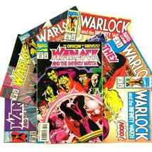 Warlock and the Infinity Watch Comic Book Lot 7 Issues Marvel VF Drax Ga... - $19.75