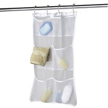 Quick Dry Hanging Caddy and Bath Organizer with 6-pocket, Hang on Shower... - $9.93