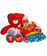 Build a Bear Wonder Woman Teddy with Cape Costume Outfit 16in. Stuffed P... - $139.95