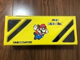 Nintendo Famicom soft storage case Super mario bros FC From Japan - $150.21