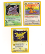 Set of 6 Mixed Set Rare Pokemon Cards - $16.00