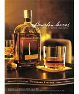 Bourbon - Labrot & Graham Woodford Reserve Full Page Color Print Ad - Co... - $3.50